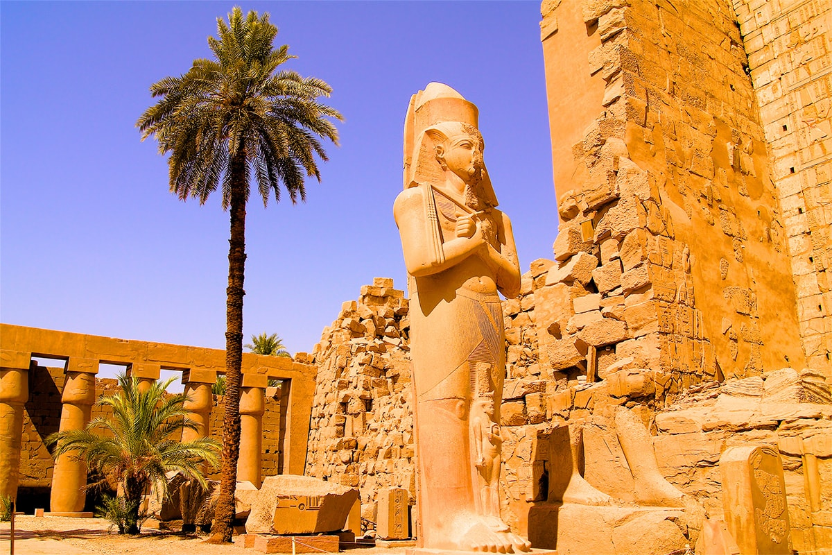 13 day Best of Egypt tour with Nile cruise and flights