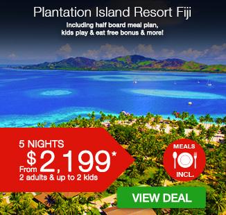 Plantation Island Resort | Fiji Holiday Packages | Webjet ...