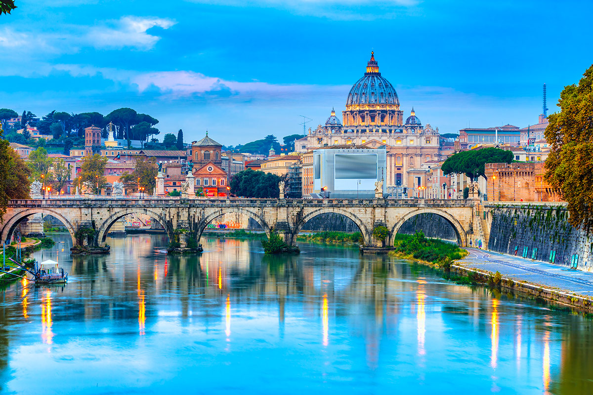 16 day Classic Italian Journey with Mediterranean cruise and flights