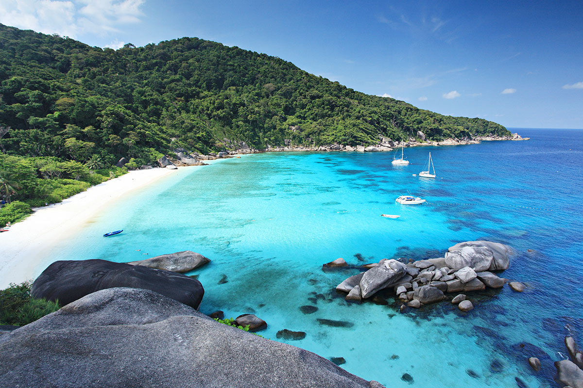 12 day small ship Thailand Islands cruise with flights