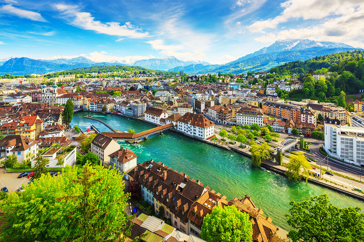 14 day Grand Train Tour of Switzerland with flights