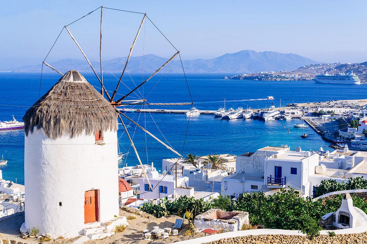 12 day Greek Island Hopping Adventure with flights
