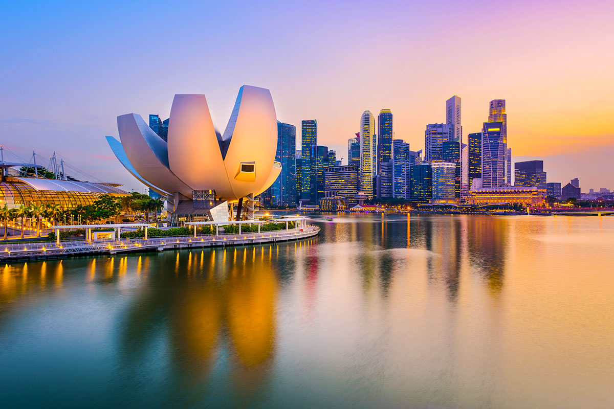 17 day Best of Asia cruise with Hong Kong city stay and Singapore Stopover with flights