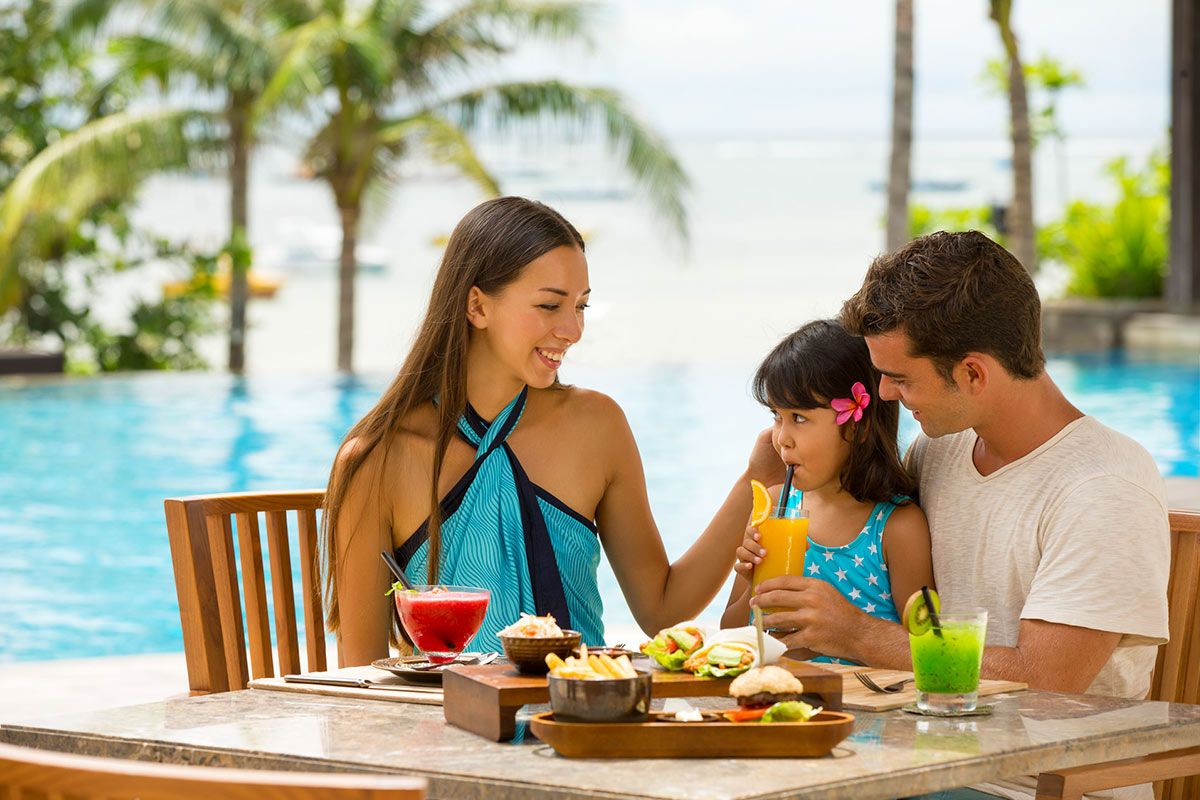 7 nights at the 5-star Fairmont Sanur Beach, Bali